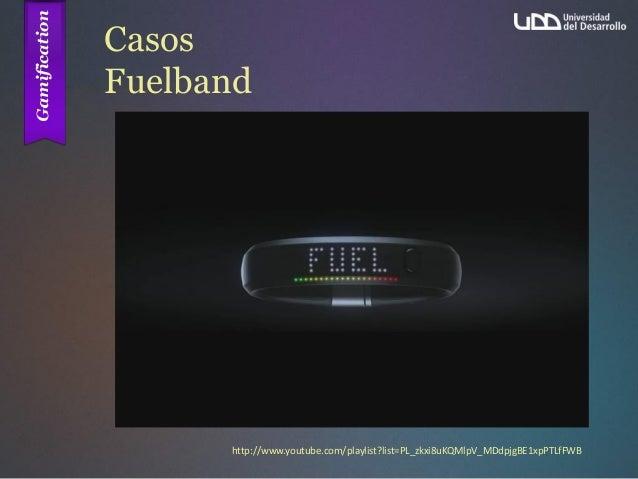 Casos Fuelband http://www.youtube.com/playlist?list=PL_zkxi8uKQMlpV_MDdpjgBE1xpPTLfFWB