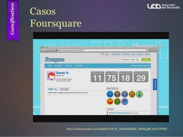 Casos Foursquare http://www.youtube.com/playlist?list=PL_zkxi8uKQMlpV_MDdpjgBE1xpPTLfFWB