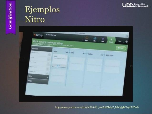 Ejemplos Nitro http://www.youtube.com/playlist?list=PL_zkxi8uKQMlpV_MDdpjgBE1xpPTLfFWB