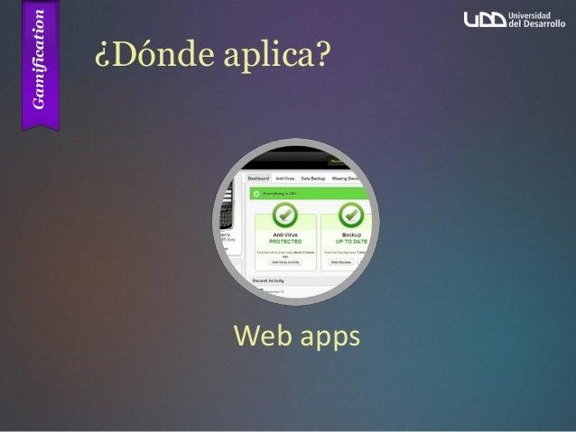 ¿Dónde aplica? Web apps