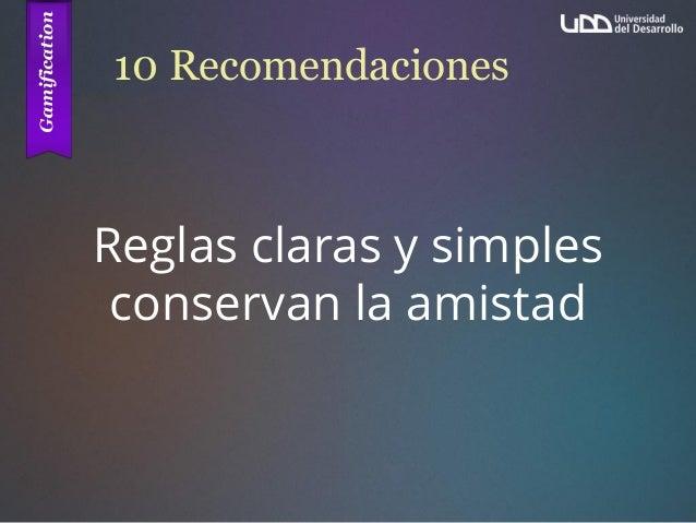 10 Recomendaciones Reglas claras y simples conservan la amistad
