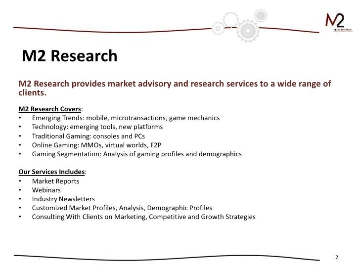 Gamification in 2012: Trends in Consumer and Enterprise Markets with Metrics Slide 2