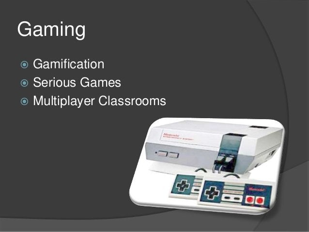 Gamification  The use of game elements and game design techniques in non-game context