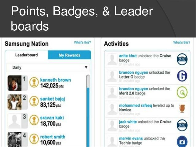 Strategies  Gamify grading, homework, & assessments  Award students with badges  Group a series of badges into another ...