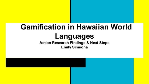 Gamification In World Language - 1 world language
