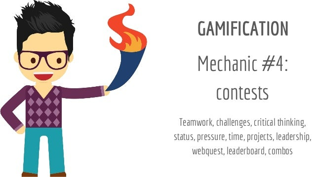 Gamification mechanics in #education (Andoni Sanz)