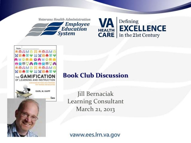 Jill BernaciakLearning ConsultantMarch 21, 2013Book Club Discussion
