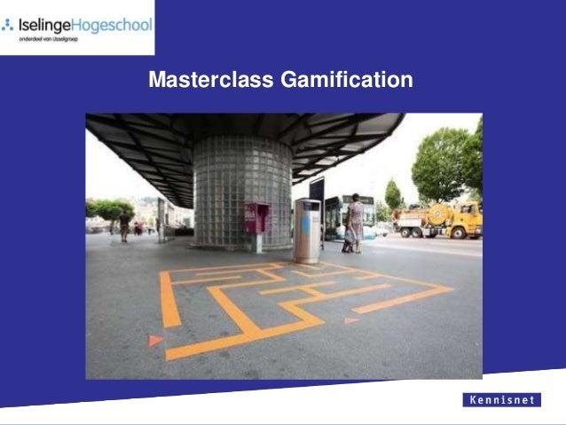 Masterclass Gamification