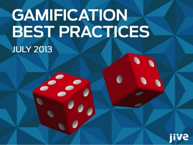 2 © Jive confidential Gamification Swarm Reveals Best Practices • Industry thought leaders have been swarming on social bu...