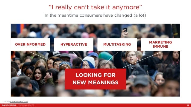"""""""I really can't take it anymore""""  In the meantime consumers have changed (a lot)  Testo slide  OVERINFORMED HYPERACTIVE MU..."""