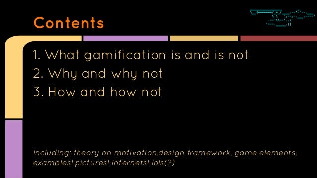 Gamification - How to Think Straight About Slide 2