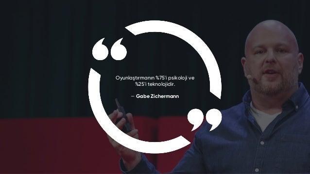 Gamfed Türkiye / Gamification Oyunlaştırma : Oyun'u Ciddiye Alanlar 2020 Sunumu
