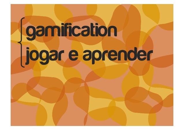 gamification jogar e aprender