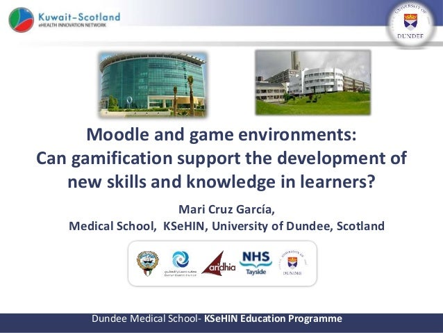 Moodle and game environments: Can gamification support the
