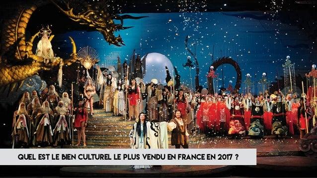 quel est le bien culturel le plus vendu en france en 2017 ?