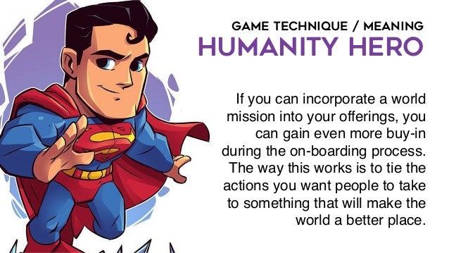 GAME TECHNIQUE / SOCIAL INFLUENCE MENTORSHIP