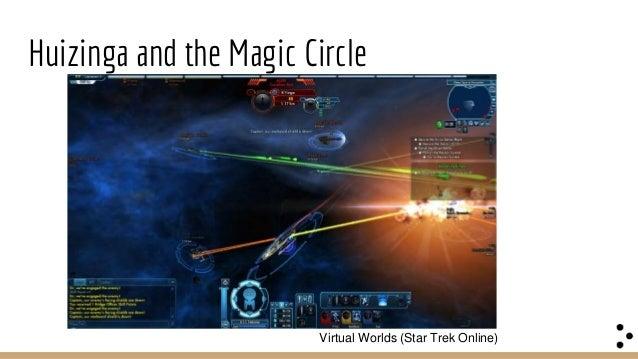 Huizinga and the Magic Circle Augmented Reality Games (Ingress) Magic Circle bleeding through to real life?