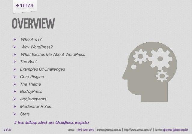 Gamifying WordPress Slide 2