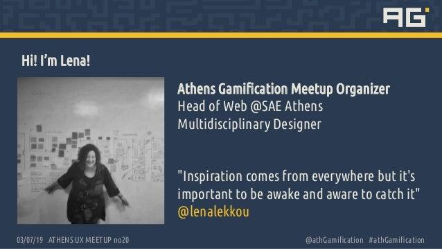 Gamify UX meetup Slide 2