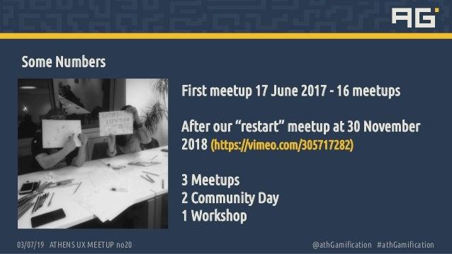 Gamify UX meetup Slide 3