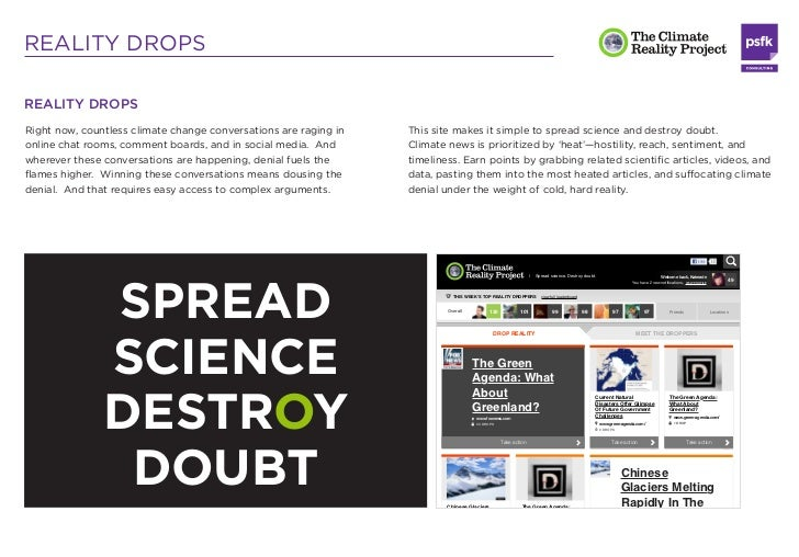 REALITY DROPSREALITY DROPSRight now, countless climate change conversations are raging in   This site makes it simple to s...