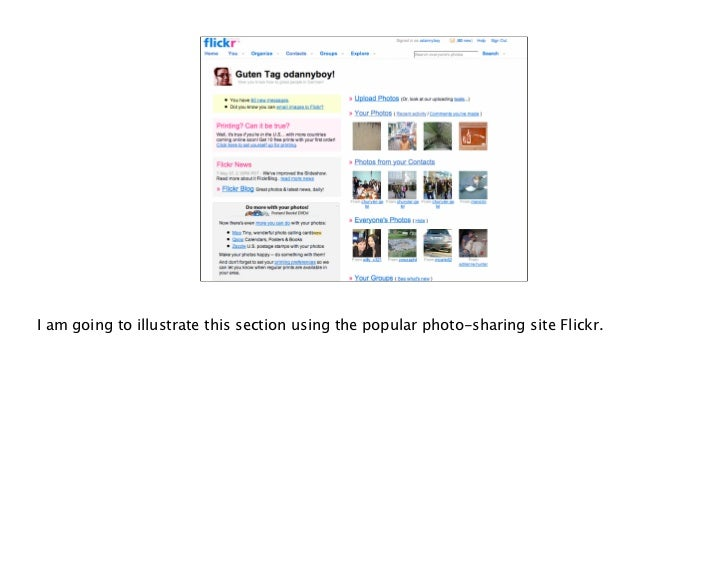 Flickr just doesn't reject your upload with an error message, it tells you why and often, how to correct the error.