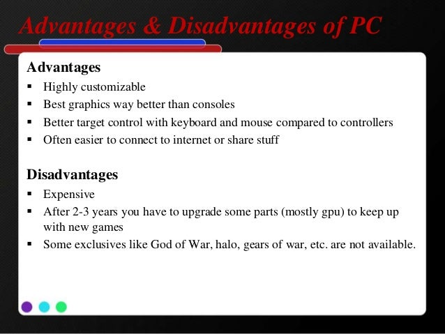 Advantages and Disadvantages of Playing Video Games ...