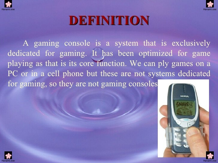 What is the definition of game console - Console meaning in computer ...