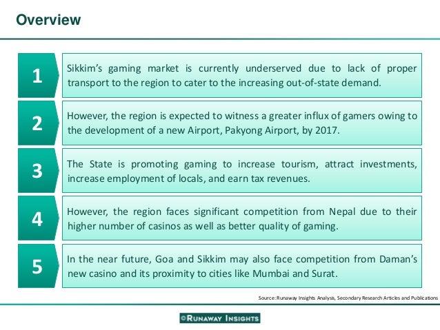 Supply and demand analysis of the gaming industry casino pachenga hotel and casino