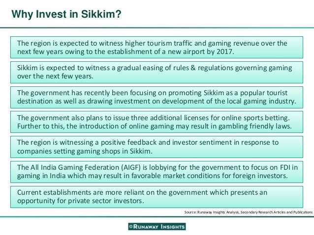 Sikkim online gambling regulation act 2008 casino murals