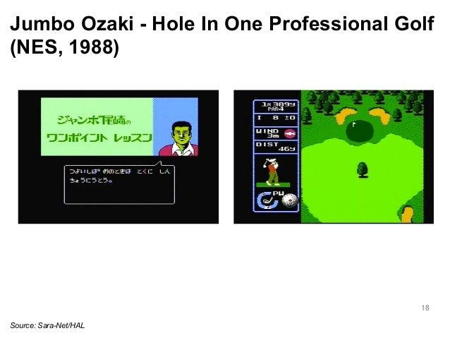 Jumbo Ozaki - Hole In One Professional Golf  (NES, 1988)  18  Source: Sara-Net/HAL