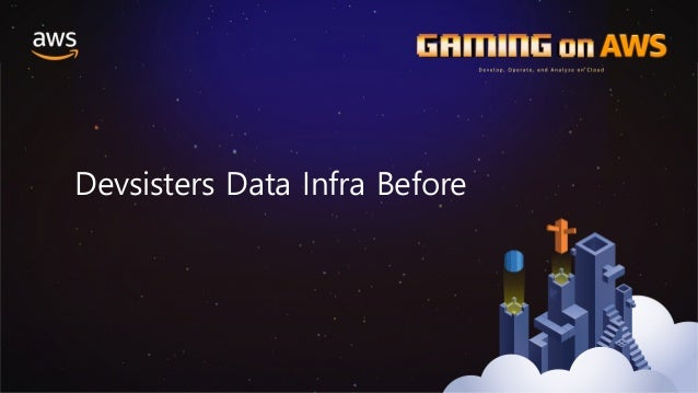 Semi-Structure Indexing Indexed Log Devsisters Data Infra Before 2014년 – Data Infra & Application Raw Log CS 팀: CS 응대 분석 팀...