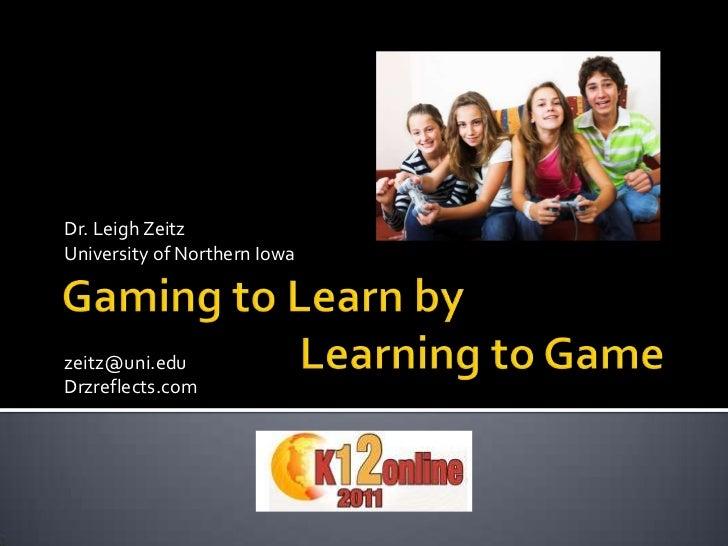 Dr. Leigh ZeitzUniversity of Northern Iowazeitz@uni.eduDrzreflects.com