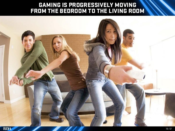 GAMING IS PROGRESSIVELY MOVING FROM THE BEDROOM TO THE LIVING ROOM                                           18 | 57