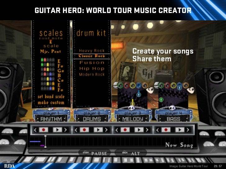 GUITAR HERO: WORLD TOUR MUSIC CREATOR                           Create your songs                        Share them       ...