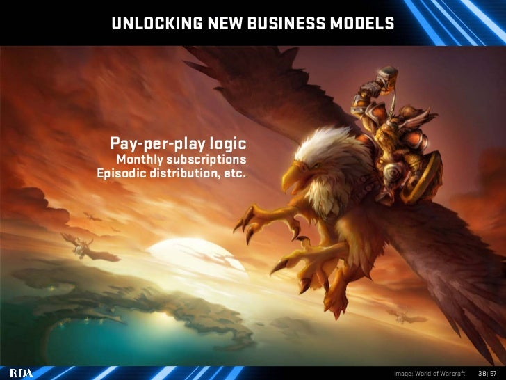 UNLOCKING NEW BUSINESS MODELS       Pay-per-play logic    Monthly subscriptions Episodic distribution, etc.               ...
