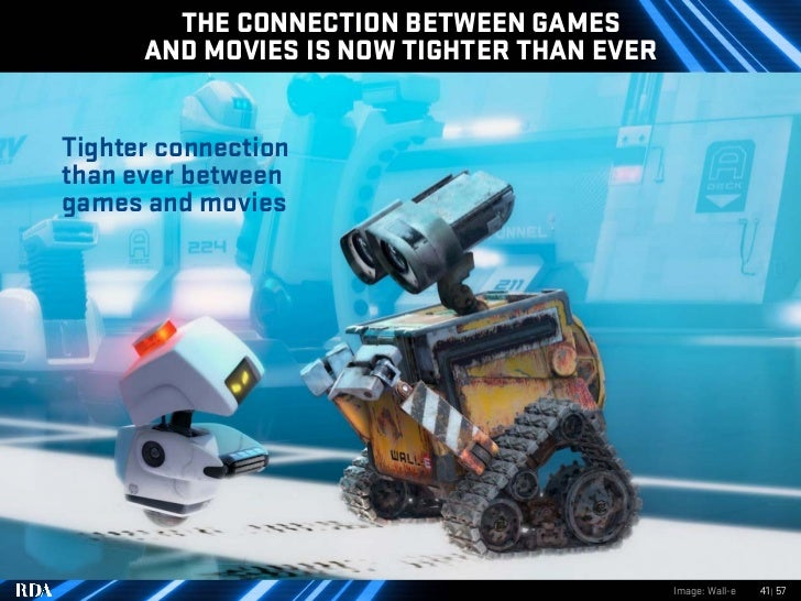 THE CONNECTION BETWEEN GAMES       AND MOVIES IS NOW TIGHTER THAN EVER   Tighter connection than ever between games and mo...