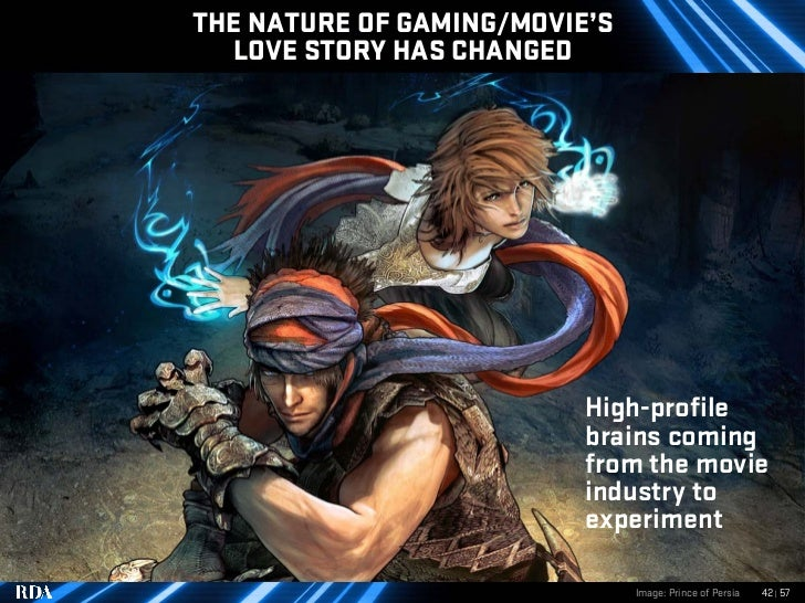 THE NATURE OF GAMING/MOVIE'S   LOVE STORY HAS CHANGED                               High-profile                          ...