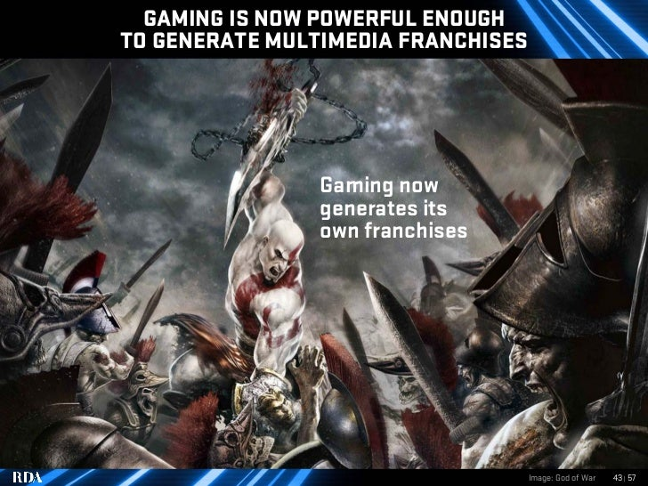 GAMING IS NOW POWERFUL ENOUGH TO GENERATE MULTIMEDIA FRANCHISES                     Gaming now                 generates i...