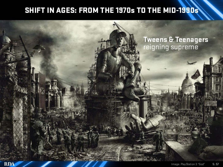 SHIFT IN AGES: FROM THE 1970s TO THE MID-1990s                                  Tweens & Teenagers                        ...