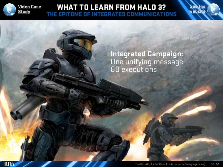 Video Case Study                 WHAT TO LEARN FROM HALO 3?                                        See the                ...