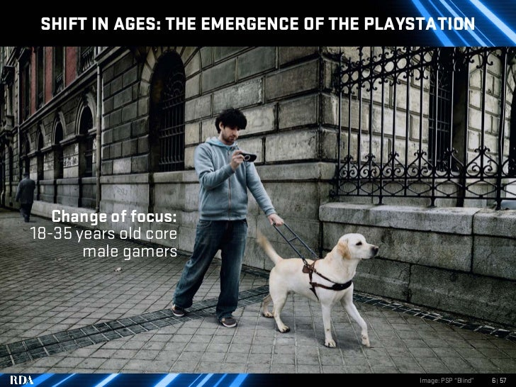 SHIFT IN AGES: THE EMERGENCE OF THE PLAYSTATION        Change of focus: 18-35 years old core        male gamers           ...