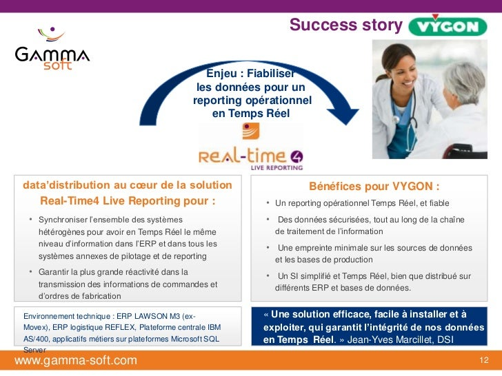 Success story : VYGON                                                    Enjeu : Fiabiliser                               ...