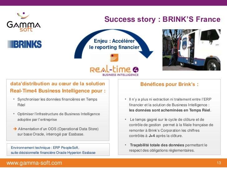 Success story : BRINK'S France                                                     Enjeu : Accélérer                      ...