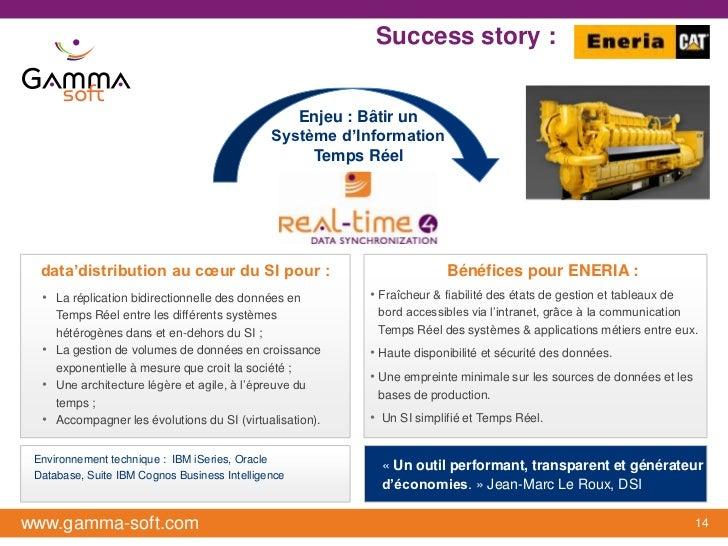 Success story :                                 ENERIA                                                 Enjeu : Bâtir un   ...