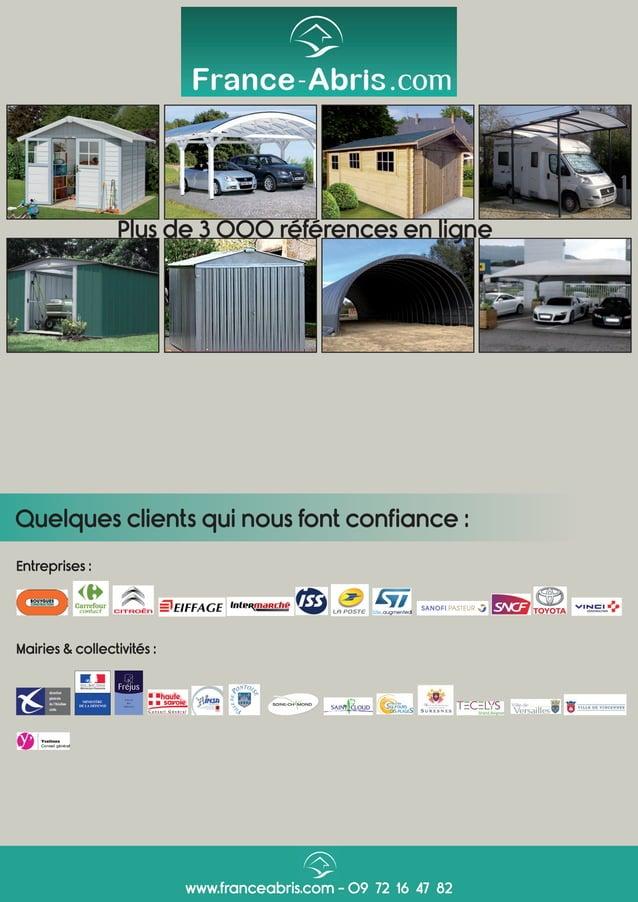 Mairies & collectivités : Entreprises : Quelques clients qui nous font confiance : www.franceabris.com - 09 72 16 47 82 Pl...