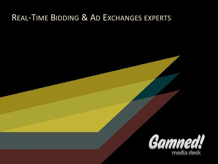 REAL-TIME BIDDING & AD EXCHANGES EXPERTS                                           TITRE                                  ...