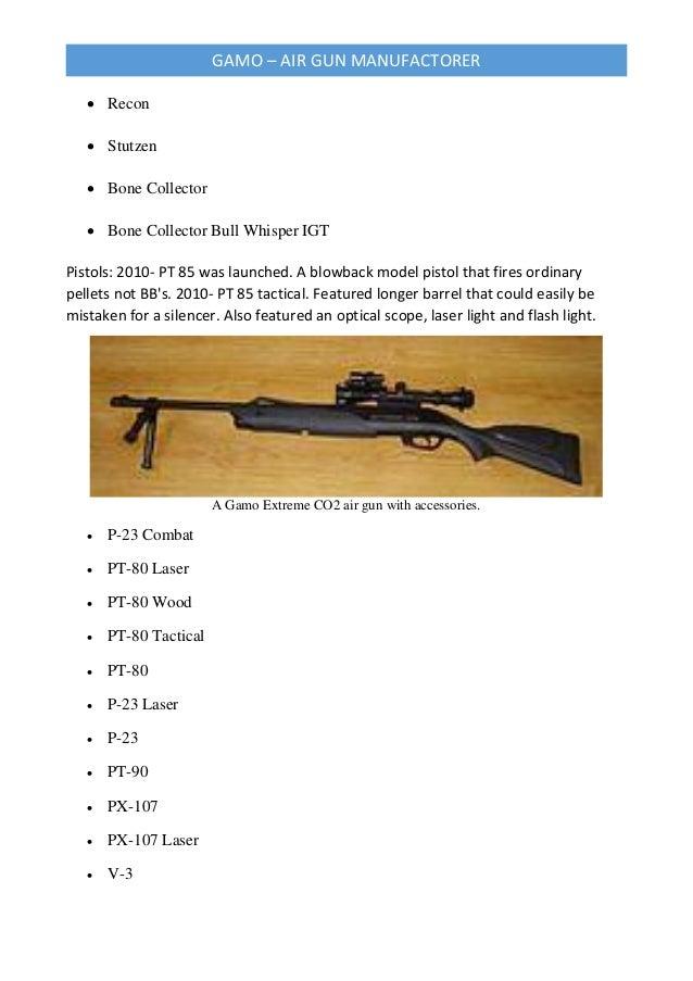Gamo air gun manufacturer