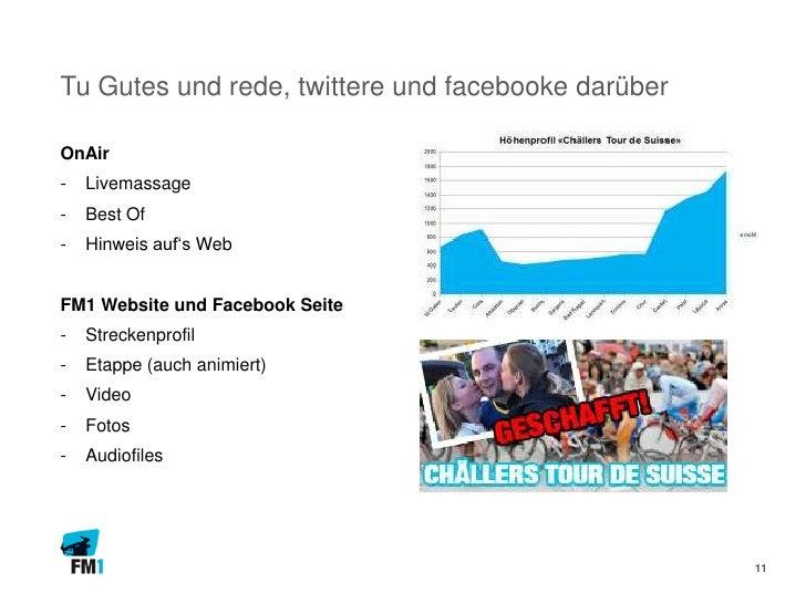 Tu Gutes und rede, twittere und facebooke darüberOnAir-   Livemassage-   Best Of-   Hinweis auf's WebFM1 Website und Faceb...
