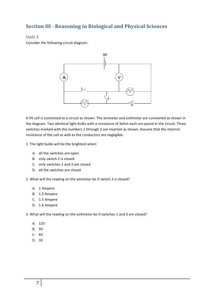 gamsat practise essay questions